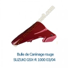 Bulle de carenage rouge GSX-R 1000 K3 2003-2004