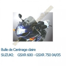 Bulle de carenage claire GSX-R 750 04-05