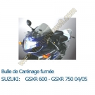 Bulle de carenage fumée GSX-R 750 04-05