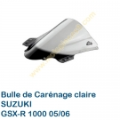 Bulle de carenage claire GSX-R 1000 2005-2006