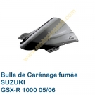 Bulle de carenage fumée GSX-R 1000 2005-2006