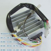 regulateur suzuki gsx 750 e l 80 82